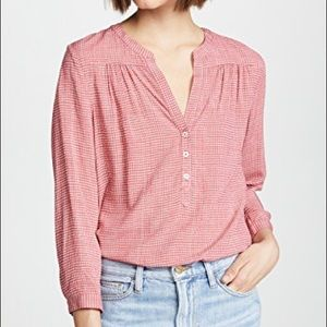 Soft Joie 100% rayon printed blouse top